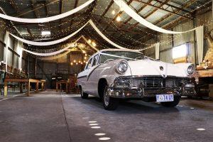 Classic Car Wedding Tasmania